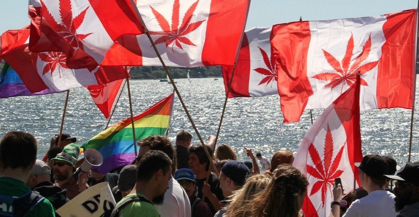 Legalización Canadá