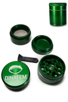 Grinder Dinafem aluminio 30 mm 4 partes
