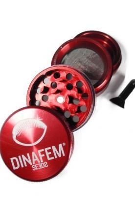 Grinder Dinafem aluminio 40 mm 4 partes