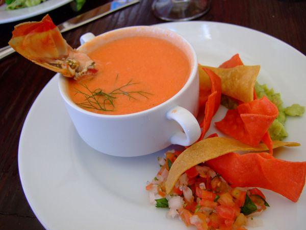 gazpacho andaluso gastronomia cannabis mariju