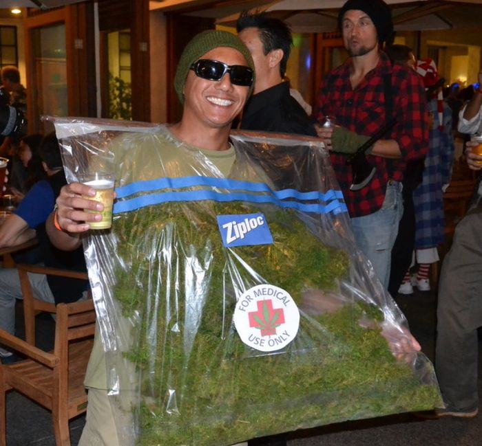 disfraz bolsa marihuana