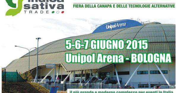 indica sativa trade italy cannabis fair bolog