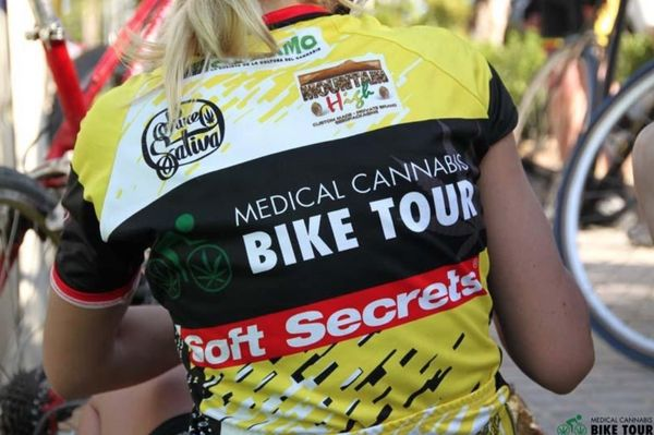 medical cannabis bike tour cancer