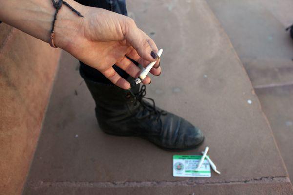 prohibido fumar marihuana